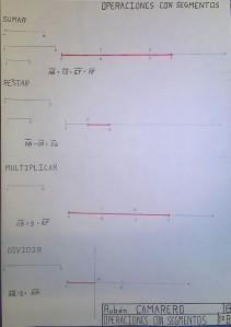 operacines con segmentos