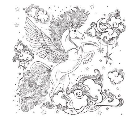 dibujos-colorear-caballo-alado